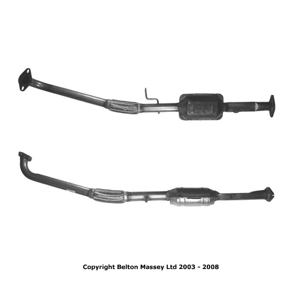 BM91343H TYPE APPROVED CATALYTIC CONVERTER CAT  FOR ROVER 25