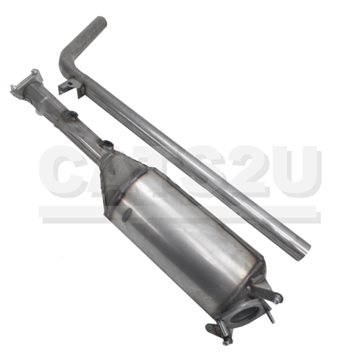 RENAULT Scenic 1.9 01/06-01/09 Diesel Particulate Filter