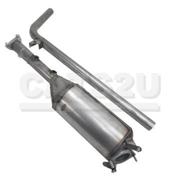 RENAULT Megane 1.9 01/06-01/10 Diesel Particulate Filter