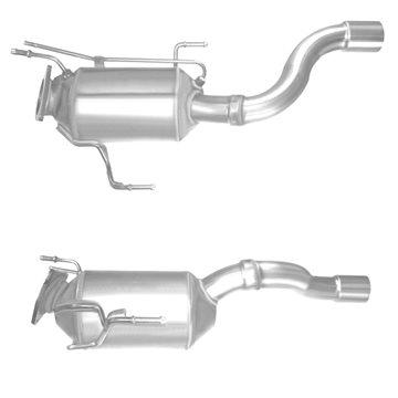 VOLKSWAGEN TOUAREG 3.0 12/05-11/07 Diesel Particulate Filter