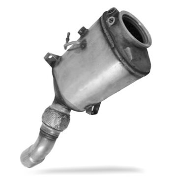 BMW X3 3.0 Diesel Particulate Filter DPF 09/06-03/10