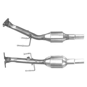 SMART FORFOUR 1.1 07/04 on Catalytic Converter