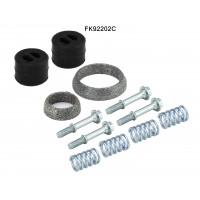 TOYOTA AURIS 1.8 Catalytic Converter Fitting Kit 10/12-12/18 FK92202C
