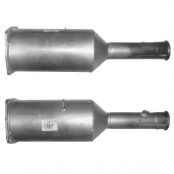 PEUGEOT 607 2.7 12/04 on Diesel Particulate Filter