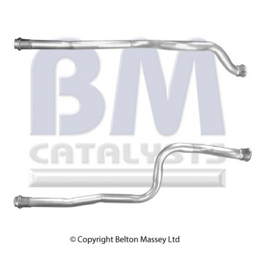 CITROEN C4 GRAND PICASSO 2.0 10/06 on Link Pipe