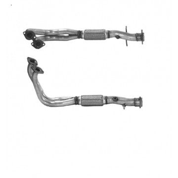SAAB 9000 2.0 10/89-10/92 Front Pipe