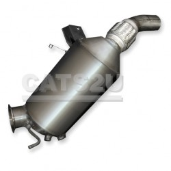 BMW 118d 2.0 08/04-12/07 Diesel Particulate Filter
